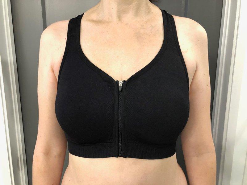 CzSalus Post Breast Enlargement Zip Bra or Sport use